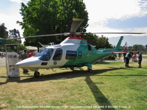 Open Day - 31 AgustaWestland AW109E Power ''C-05'' AgustaWestland AW109S © Ricardo Farías O.