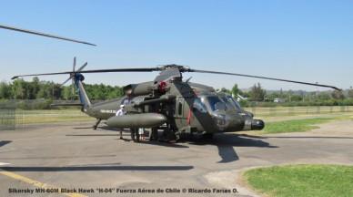 Open Day - 35 Sikorsky MH-60M Black Hawk ''H-04'' Fuerza Aérea de Chile © Ricardo Farías O.