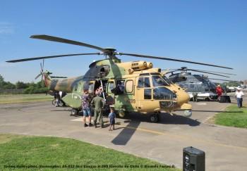 Open Day - 38 Airbus Helicopters (Eurocopter) AS-532 ALe Cougar H-289 Ejercito de Chile © Ricardo Farías O.