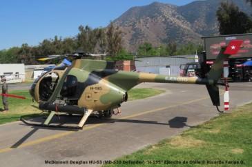 Open Day - 39 McDonnell Douglas HU-53 (MD-530 Defender) ''H-195'' Ejercito de Chile © Ricardo Farías O.