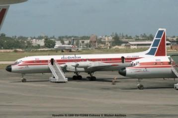 003 ilyushin il-18d cu-t1268 cubana © michel anciaux