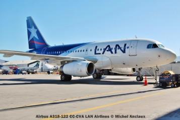 006 Airbus A318-122 CC-CVA LAN Airlines © Michel Anciaux