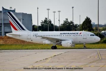 010 Airbus A318-111 F-GUGM Air France © Michel Anciaux