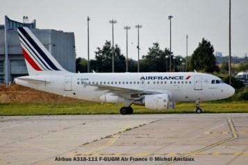 010 Airbus A318-111 F-GUGM Air France © Michel Anciaux