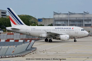 012 A318-111 F-GUGE Air France © Michel Anciaux