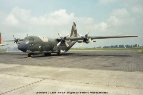 018 lockheed c-130h ''ch-02'' belgian air force © michel anciaux