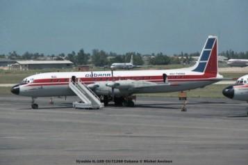 023 ilyushin il-18d cu-t1268 cubana © michel anciaux
