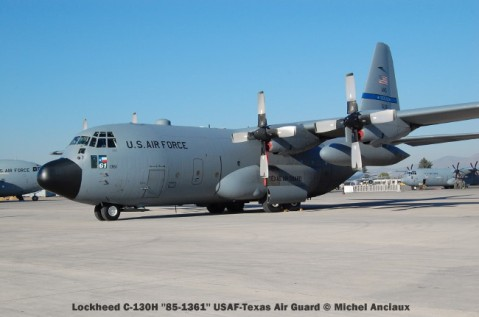 047 lockheed c-130h ''85-1361'' usaf-texas air guard © michel anciaux