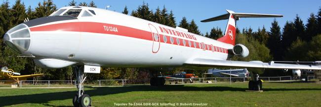 06 tupolev tu-134a ddr-sck interflug © hubert creutzer