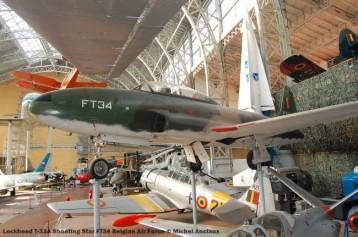 192 lockheed t-33a shooting star ft34 belgian air force © michel anciaux