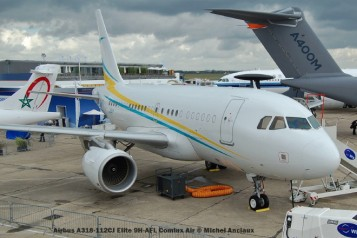 195 Airbus A318-112CJ Elite 9H-AFL Comlux Air © Michel Anciaux