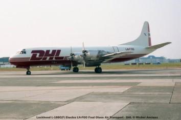 img128 lockheed l-188c(f) electra ln-foo fred olsen air transport - dhl © michel anciaux