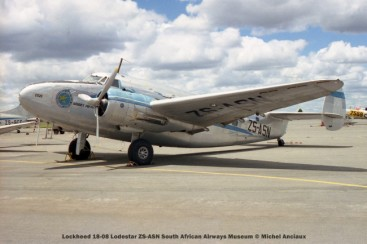 img1688 lockheed 18-08 lodestar zs-asn south african airways museum © michel anciaux