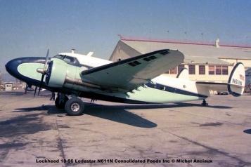 img348 Lockheed 18-56 Lodestar N611N © Michel Anciaux