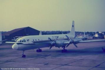 img409 ilyushin il-18d 3x-gat air guinee © michel anciaux