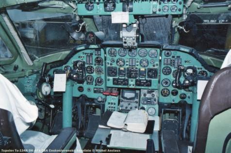 img494 tupolev tu-134a ok-afa csa ceskoslovenské aerolinie © michel anciaux