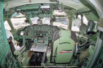 img507 tupolev tu-134a ok-efj csa ceskoslovenské aerolinie © michel anciaux