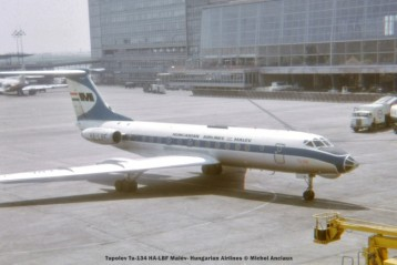 img518 tupolev tu-134 ha-lbf malév- hungarian airlines © michel anciaux