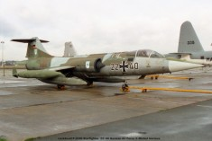 img654 lockheed f-104g starfighter 22+40 german air force © michel anciaux