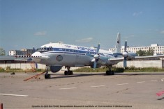 img800 ilyushin il-18d ra-75442 government research institute of civil aviation © michel anciaux