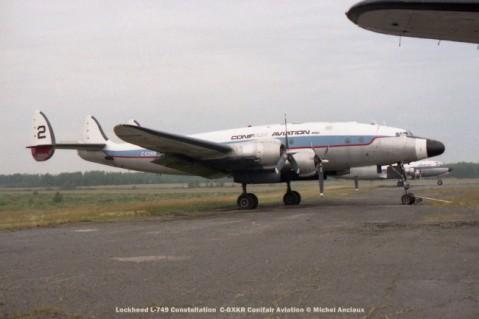 img813 lockheed l-749 constellation c-gxkr conifair aviation © michel anciaux