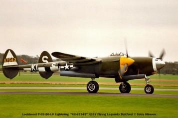 n°1 lockheed p-38-20-lo lightning ''42-67543'' n25y flying legends duxford © eddy minnen