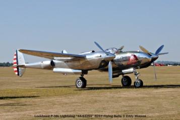 n°3 lockheed p-38l lightning ''44-53254'' n25y flying bulls © eddy minnen