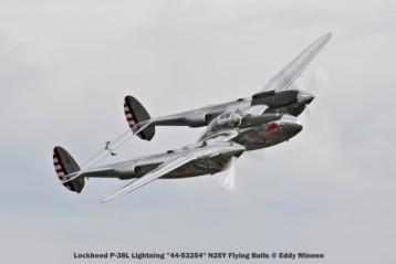 n°4 lockheed p-38l lightning ''44-53254'' n25y flying bulls © eddy minnen