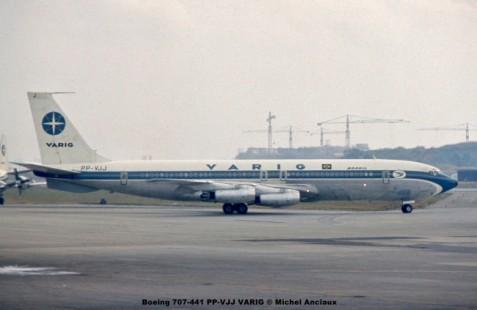 004 Boeing 707-441 PP-VJJ VARIG © Michel Anciaux
