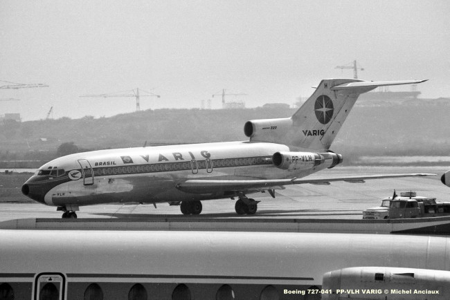 010 Boeing 727-041 PP-VLH VARIG © Michel Anciaux