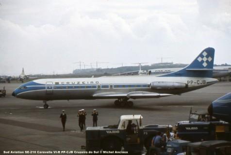 014 Sud Aviation SE-210 Caravelle VI-R PP-CJB Cruzeiro do Sul © Michel Anciaux