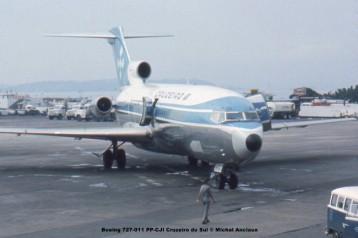 017 Boeing 727-011 PP-CJI Cruzeiro do Sul © Michel Anciaux