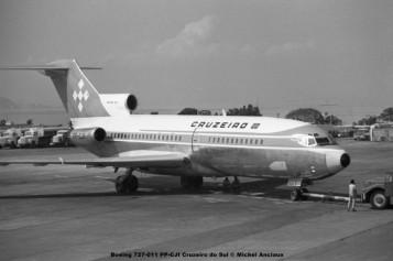 018 Boeing 727-011 PP-CJI Cruzeiro do Sul © Michel Anciaux