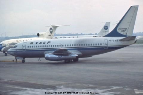025 Boeing 737-2A1 PP-SMB VASP © Michel Anciaux