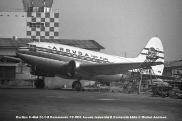 029 Curtiss C-46A-50-CU Commando PP-VCE Arruda Industria E Comercio Ltda © Michel Anciaux