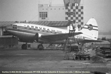 030 Curtiss C-46A-50-CU Commando PP-VCE Arruda Industria E Comercio Ltda © Michel Anciaux