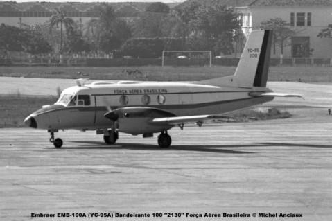 031 Embraer EMB-100A (YC-95A) Bandeirante 100 ''2130'' Força Aérea Brasileira © Michel Anciaux