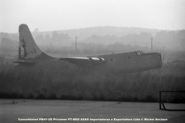 034 Consolidated PB4Y-2G Privateer PT-BEO ASAS Importadoras e Exportadora Ltda © Michel Anciaux