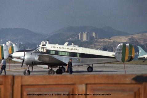 037 Beech Expeditor H.18 ''2895'' Força Aérea Brasileira © Michel Anciaux