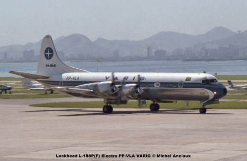 040 Lockheed L-188P(F) Electra PP-VLA VARIG © Michel Anciaux