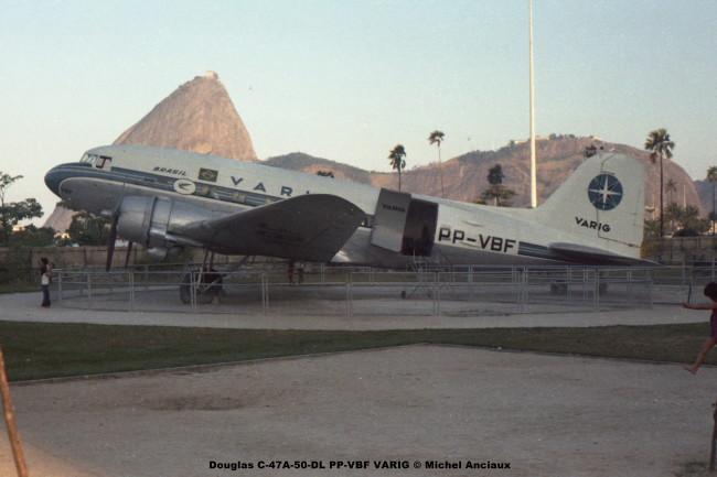 051 Douglas C-47A-50-DL PP-VBF VARIG © Michel Anciaux