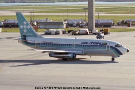 062 Boeing 737-2C3 PP-CJS Cruzeiro do Sul © Michel Anciaux