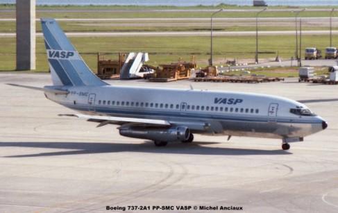 066 Boeing 737-2A1 PP-SMC VASP © Michel Anciaux