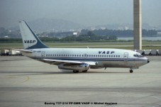 068 Boeing 737-214 PP-SMR VASP © Michel Anciaux