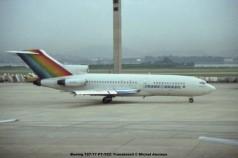070 Boeing 727-77 PT-TCC Transbrasil © Michel Anciaux