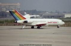 071 Boeing 727-027C PT-TYP Transbrasil © Michel Anciaux