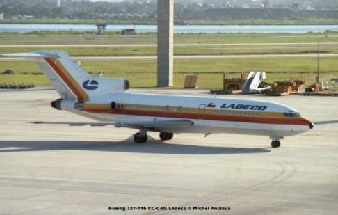 074 Boeing 727-116 CC-CAG Ladeco © Michel Anciaux