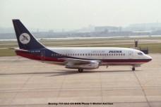 075 Boeing 737-2A3 CX-BON Pluna © Michel Anciaux