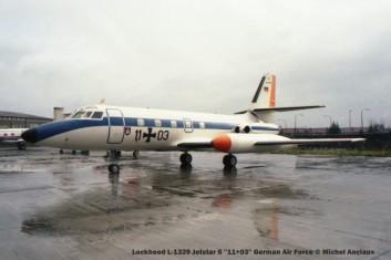 1343 Lockheed L-1329 Jetstar 6 ''11+03'' German Air Force © Michel Anciaux