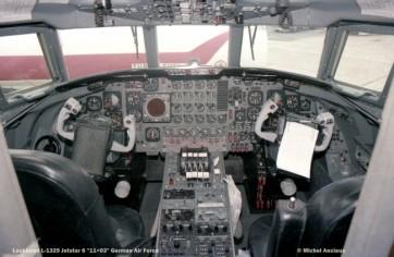 1344 Lockheed L-1329 Jetstar 6 ''11+03'' German Air Force © Michel Anciaux